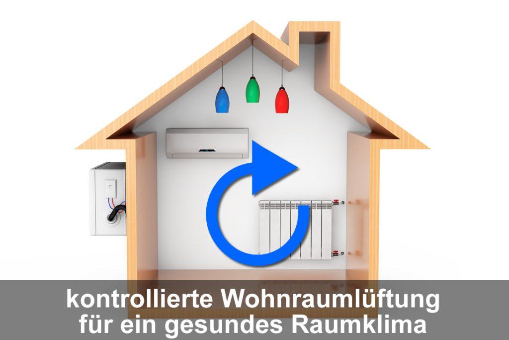 Die kontrollierte Wohnräumlüftung für ein gesundes Raumklima