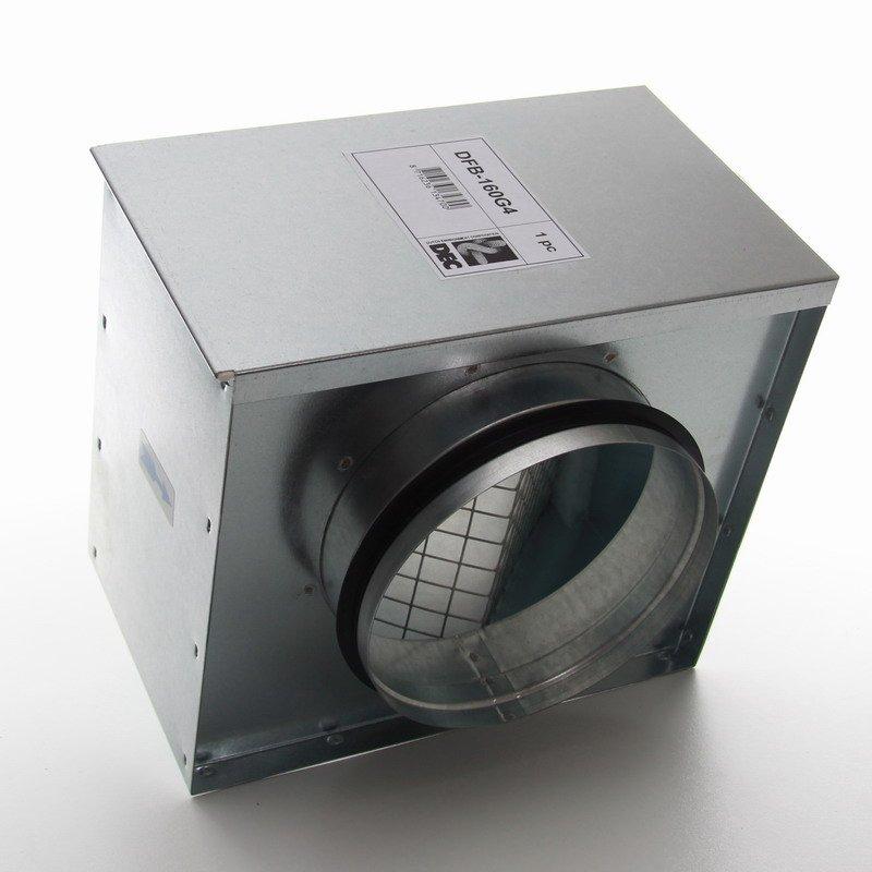 luftfilter box f r zuluft 32 67. Black Bedroom Furniture Sets. Home Design Ideas