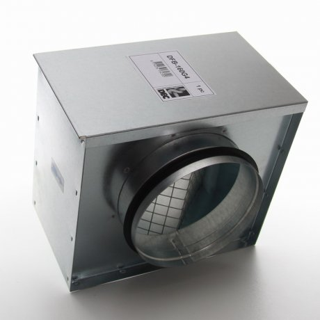 luftfilter box f r zuluft dn 125 eu 4 filter 50 53. Black Bedroom Furniture Sets. Home Design Ideas